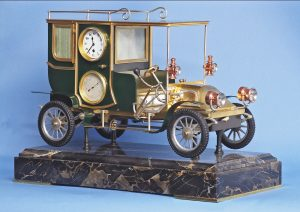 Rare French Industrial Automaton Clock